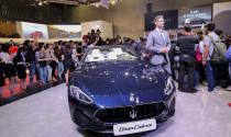 Cận cảnh Maserati GranCabrio Sport 2018 tại triển lãm VMS 2018