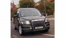 Ngắm Minivan hạng sang của Tổng thống Nga Vladimir Putin