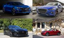 Top 10 mẫu xe có hệ dẫn động cầu sau tốt nhất