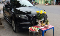 Cúng ôtô mới - tập tục ít người hiểu tại Việt Nam