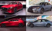 Cuộc đối đầu gay cấn: Mazda Mazda3 2019 vs Toyota Corolla 2020