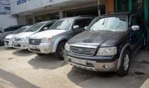 Ô tô VinFast ra mắt, thị trường ô tô cũ gặp khó