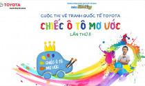 """Toyota phát động Cuộc thi Vẽ tranh Quốc tế Toyota """"Chiếc ô tô mơ ước"""" lần thứ 8 tại Viêt Nam"""