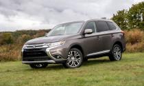 Đầu năm 2019, Mitsubishi triệu hồi xe Outlander do lỗi cần gạt nước