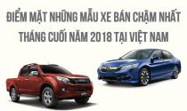 Điểm mặt những mẫu xe bán chậm nhất tháng cuối năm 2018 tại Việt Nam