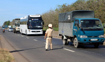 Tổng kiểm tra ôtô tải, xe khách để phát hiện tài xế dùng ma túy