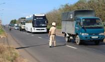 Từ 21/1, tổng kiểm soát xe tải, xe khách từ 08 chỗ ngồi trở lên