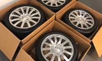 4 bộ bánh xe của Bugatti Veyron có giá bán khoảng 2,3 tỷ đồng
