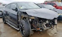 Siêu phẩm Lamborghini Urus bị tai nạn 'nát đầu' được rao bán 2,7 tỷ đồng