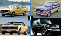 Điểm mặt một số mẫu xe già nua nhất trên thị trường
