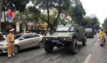 Thắt chặt an ninh trên đường Kim Jong Un tới Hà Nội