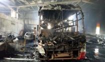 Garage ô tô ở Bình Dương cháy lớn, ước tính thiệt hại chục tỷ đồng