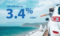 Ngân hàng VIB ưu đãi lãi suất vay mua xe chỉ còn từ 3,4%/năm cho khách hàng