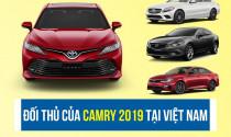 Toyota Camry 2019 và các đối thủ tại Việt Nam