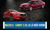 Mazda 6 Premium và Camry 2.5Q: Ai sẽ là ngôi vương doanh số