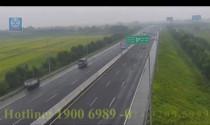 Phạt 7,5 triệu đồng với nữ tài xế xe tải đi ngược chiều trên cao tốc Hà Nội - Hải Phòng