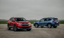 Subaru 2019 Forester 2.0i-L 1,128 tỷ hay Honda CR-V 1.5E 983 triệu: chọn xe nào của Nhật?