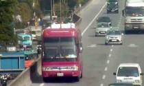 Xe khách đi lùi trên đường cao tốc, phạt 1 triệu đồng?