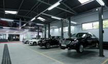 Lại choáng với danh mục tiền công thay sửa Mercedes ở Haxaco