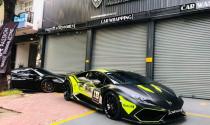 Chiêm ngưỡng Lamborghini Huracan LP610-4 của đại gia Nam Định cực ngầu