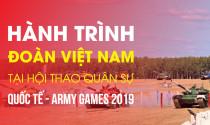 Hành trình đoàn Việt Nam tại Hội thao quân sự quốc tế - Army Games 2019