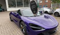 """Siêu phẩm McLaren 720S màu """"tím mộng mơ"""" về tay đại gia Vũng Tàu"""