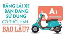 Bằng lái xe bạn đang sử dụng có thời hạn bao lâu