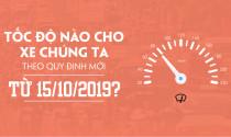 Tốc độ nào cho xe chúng ta theo quy định mới từ 15/10/2019?