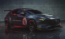 Đây có thể là hình ảnh xem trước của mẫu 'hot hatch' mang thương hiệu Mazda