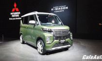 Mitsubishi lộ diện K-Wagon Concept: mẫu xe thực dụng cho người Nhật