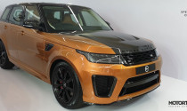 Land Rover Thái Lan ra mắt Range Rover Sport, SV Autobiography giá từ 10,7 tỷ