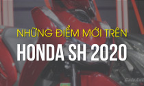 Những điểm mới trên Honda SH 2020