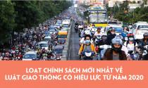 Loạt chính sách mới nhất về luật giao thông có hiệu lực từ năm 2020
