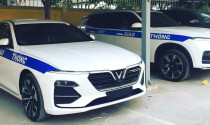 Lộ diện những hình ảnh VinFast Lux với biến thể cảnh sát giao thông