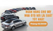 Hiện nay, ngân hàng cho vay mua ô tô với lãi suất tốt nhất?
