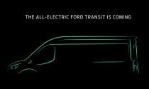 Sắp có Ford Transit chạy điện