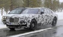 Roll Royce Ghost 2020 phiên bản Long-wheelbase lộ diện trên đường chạy thử