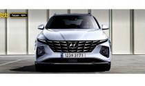 Hyundai Tucson 2021 lộ bản vẽ ngoại  thất – Elantra phiên bản Crossover