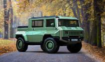 UAZ 'lai giống' với Hummer sẽ cho ra cái gì?