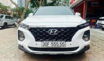 Giật mình trước Hyundai Santa Fe biển ngũ quý 5 chào giá gần 2 tỷ sau 27.000km
