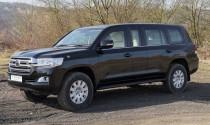 Ngắm Toyota Land Cruiser limousine bọc giáp