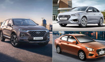 Đại lý Huyndai Philippines chơi lớn: Mua SantaFe tặng Hyundai Accent
