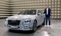 """Mercedes trang bị màn hình """"siêu to khổng lồ"""" trên S-Class W223"""