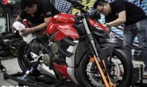 Ducati Streetfighter V4 bất ngờ đặt chân đến Việt Nam, chưa rõ giá bán cụ thể.