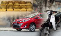 10 cây vàng xưa mua được chiếc Honda Dream, nay mua được những ô tô nào?