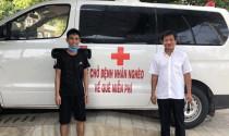 """Ông Đoàn Ngọc Hải cùng \""""xe chở miễn phí bệnh nhân nghèo\"""" ra tới Hà Nội"""