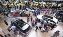 Triển lãm ô tô lớn nhất Trung Quốc tái khởi động trong bất an