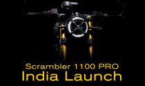 Sau Panigale V2, Ducati hé lộ mẫu xe Scrambler 1100 Pro mới tại Ấn Độ