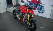 Ko úp bài này - thuận - Chi tiết Ducati Streetfighter V4 nhập khẩu chính hãng đầu tiên miền Bắc, cạnh tranh trực tiếp với Kawasaki Zh2, MV Agusta Brutale trong vị trí vua nakedbike