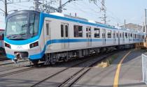 Đoàn tàu tuyến metro Bến Thành - Suối Tiên lên đường về TPHCM